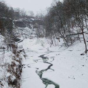 Frozen Cascadilla Falls