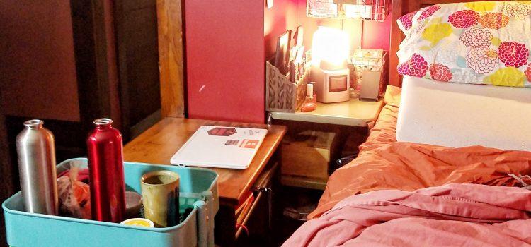 Bed-tethered Life Hacks: Bedside Supplies