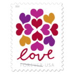 Image of USPS love stamp